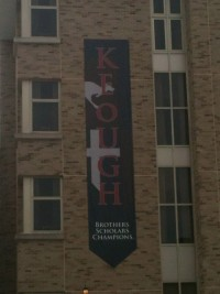 My Old Dorm: Keough Hall