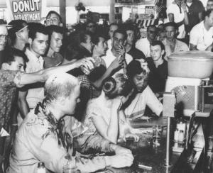 Woolworth Counter Sit-In by Tougaloo Students