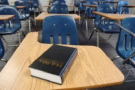 Desk + Bible